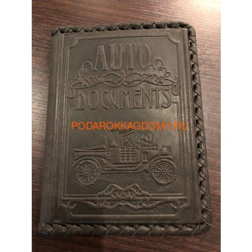 Кожаная обложка для водительского удостоверения 18215 фото 3