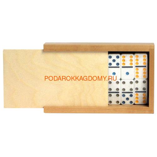 Домино подарочное в деревянном пенале 071147 фото 2