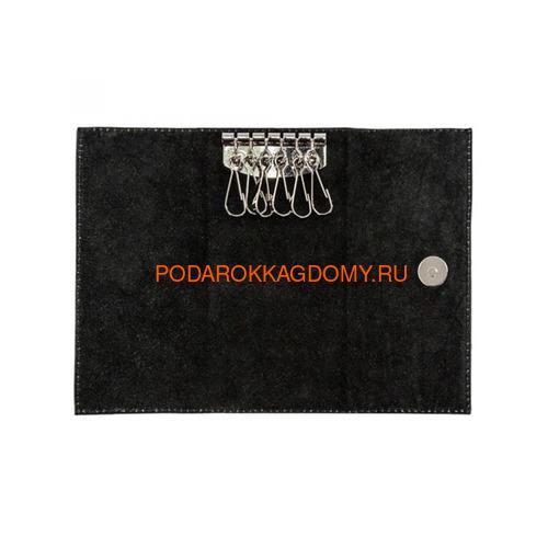 Кожаная карманная ключница 18266 фото 2