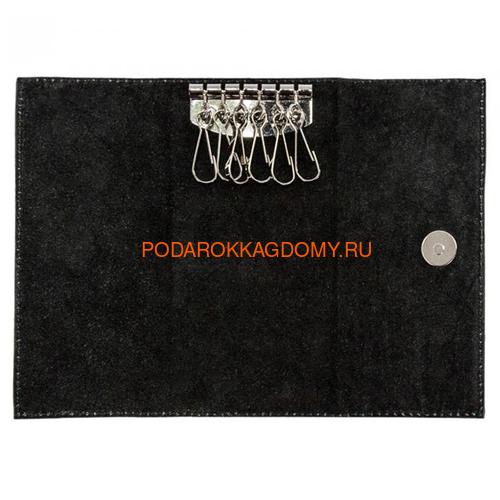 Кожаная карманная ключница 18258 фото 2