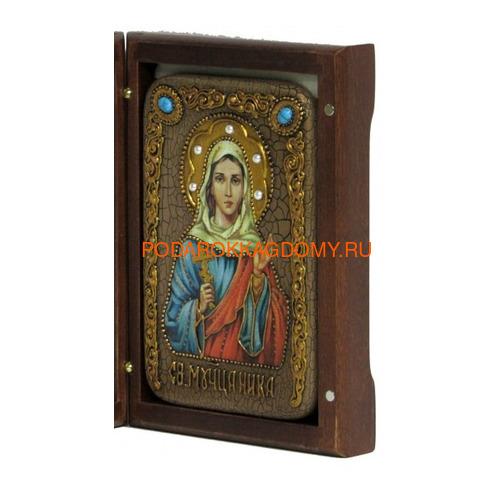 Икона Святая мученица Ника Коринфская 071309 фото 2