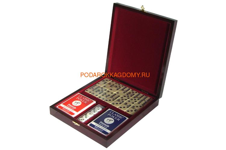 Игровой набор в деревянной шкатулке 07235 фото 2