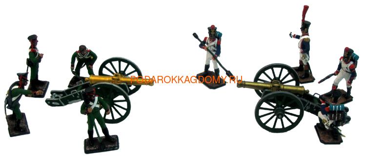 Оловянные солдатики Артиллерийское сражение 07246 фото 2