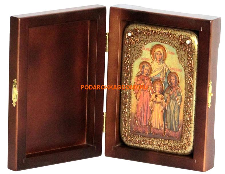 Икона Вера, Надежда, Любовь и мать их София 07491 фото 2