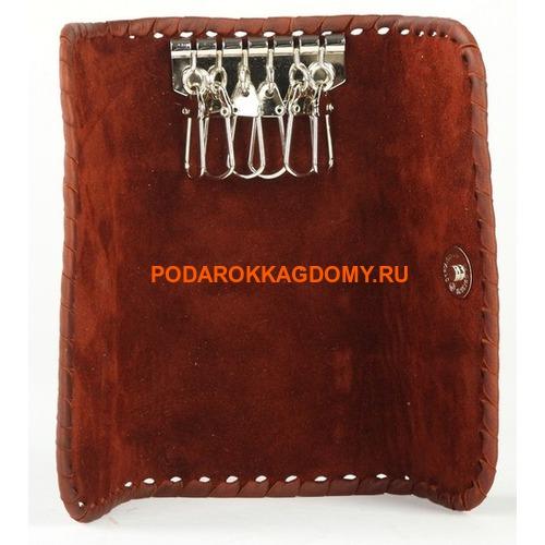 Кожаная карманная ключница 18263 фото 2