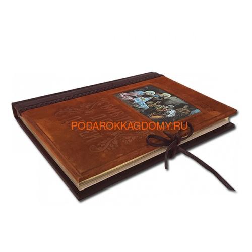 Подарочная Библия для детей в кожаном переплёте 0625 фото 4