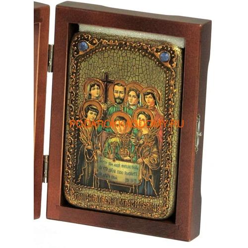 Икона Святые царственные страстотерпцы 07979 фото 2