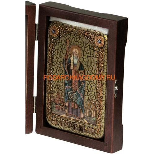 Икона Святитель и чудотворец Ермоген, патриарх Московский 07995 фото 2