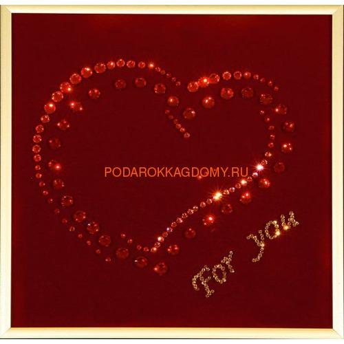 """Картина Сваровски """"For you..."""" 02255 фото"""