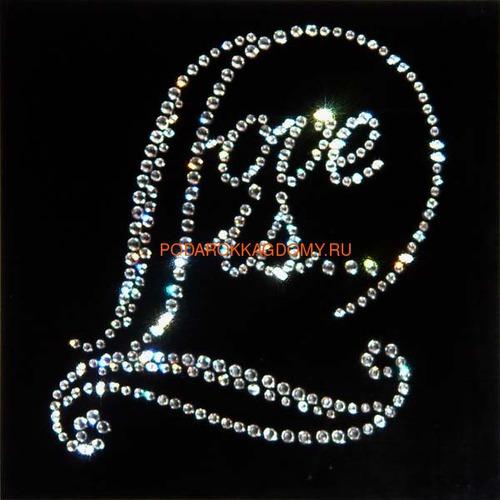 "Картина Сваровски ""Love is..."" 77170 фото"