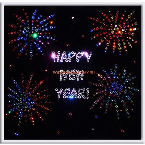 """Картина Сваровски """"Happy New Year"""" 0905 фото"""