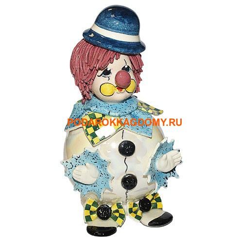 "Фарфоровая кукла - копилка ZamPiva ""Клоун"" 031236 фото"