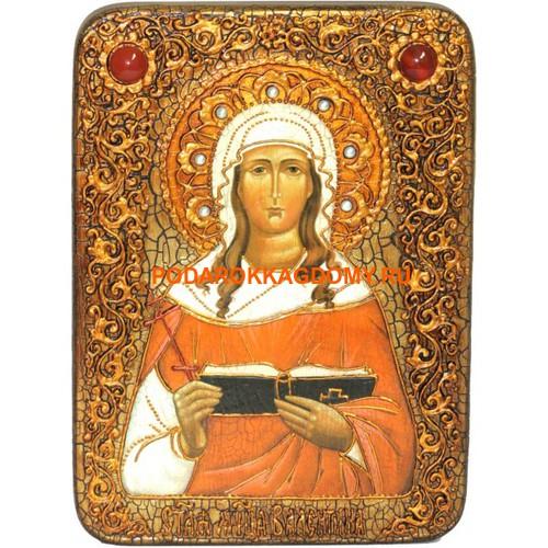 Икона Святая мученица Валентина Кесарийская 0702 фото