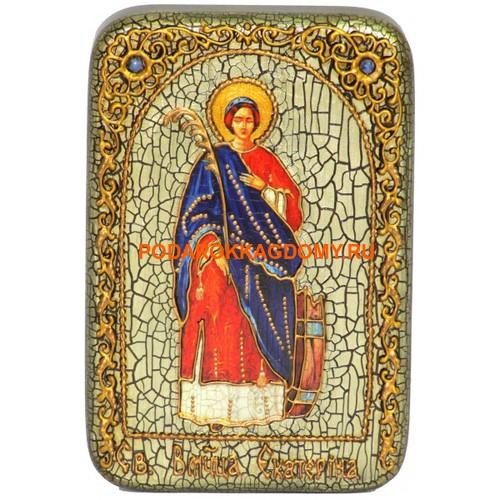 Икона Святая великомученица Екатерина 07935 фото