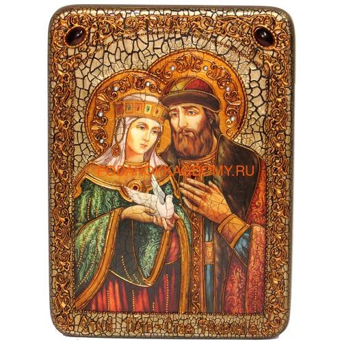 Икона Пётр и Февронья 071017 фото