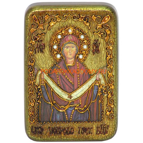 Икона Покров Пресвятой Богородицы 071095 фото