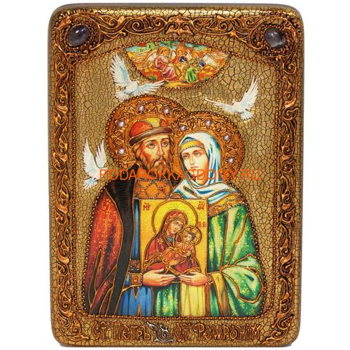 Икона Пётр и Февронья 071154 фото