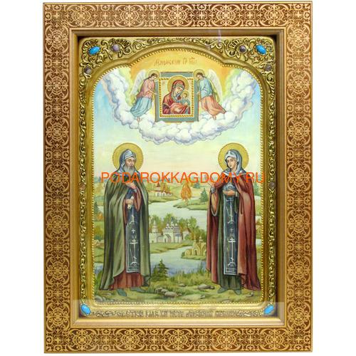 Икона Пётр и Февронья 071156 фото
