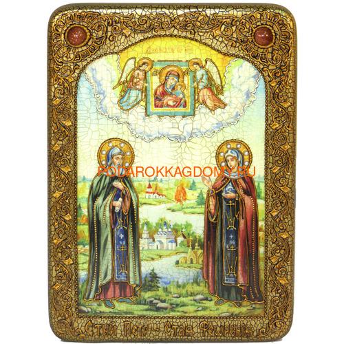 Икона Пётр и Февронья 071165 фото