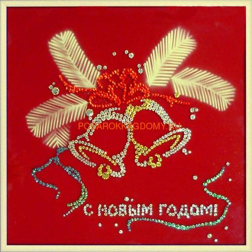 """Картина Сваровски """"Колокольчики"""" 02289 фото"""