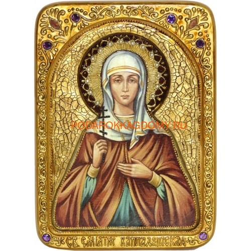 Икона Святая Емилия Кесарийская (Каппадокийская) 071302 фото