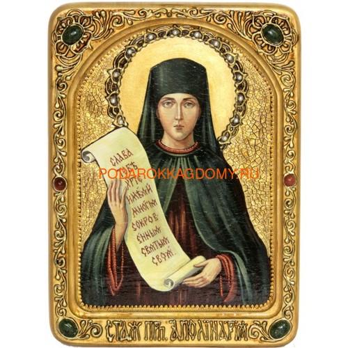 Икона Святая преподобная Аполлинария Египетская 071311 фото