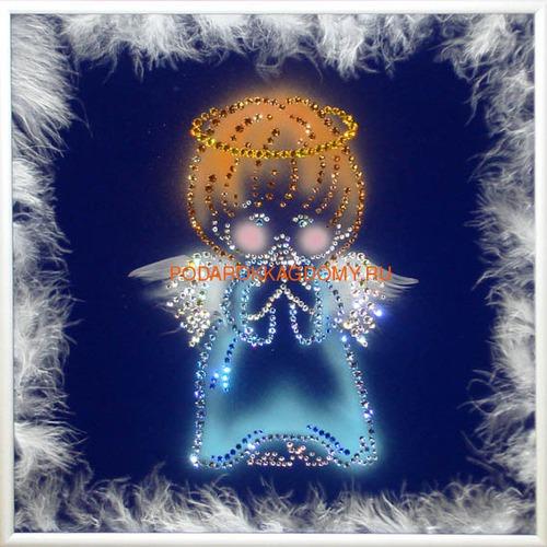 """Картина Сваровски """"Ангел - хранитель"""" 02272 фото"""