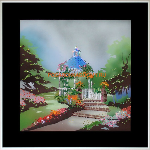 "Картина Сваровски ""Летний сад"" 021173 фото"