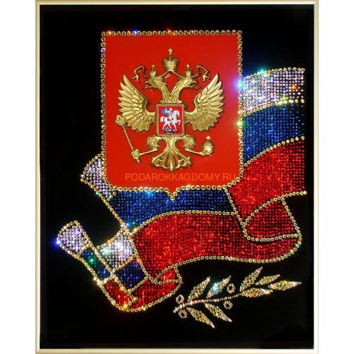 """Картина Сваровски """"Российская символика"""" 02317 фото"""