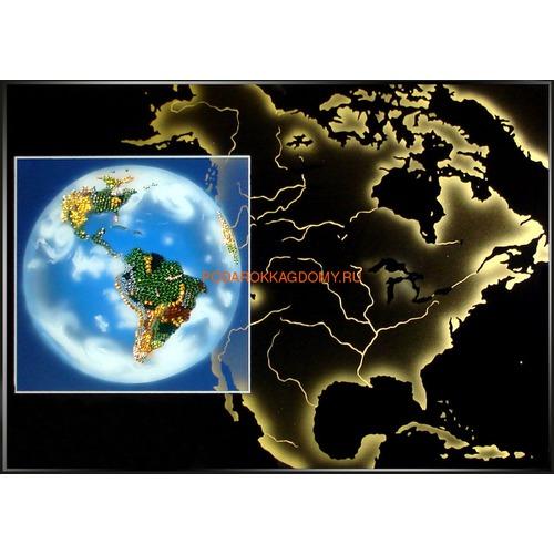 Картина Swarovski Планета земля 0221 фото