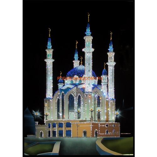"""Восточная картина Сваровски """"Мечеть Кул - Шариф"""" 0235 фото"""