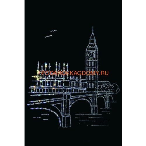 """Картина Сваровски """"Лондон"""" 0265 фото"""