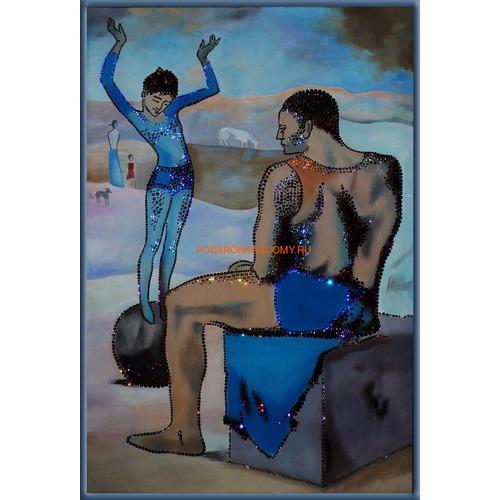 """Картина Сваровски """"Девочка на шаре. Пикассо"""" 0989 фото"""