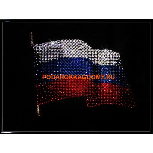 """Картина Сваровски """"Флаг РФ"""" 02322 фото"""