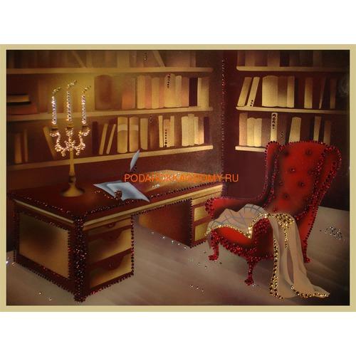 """Картина Сваровски """"Кабинет Шерлока Холмса"""" 02395 фото"""