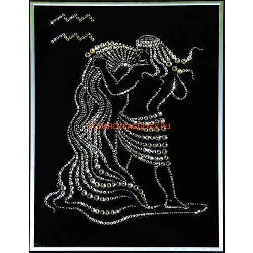 """Картина Сваровски """"Знак зодиака водолей"""" 77109 фото"""