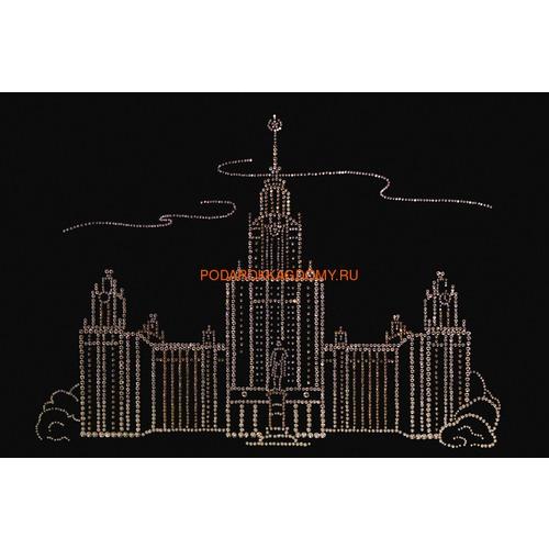 "Картина Сваровски ""МГУ"" 02112 фото"