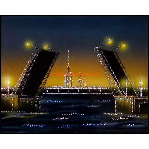 """Картина Сваровски """"Дворцовый мост"""" 02476 фото"""