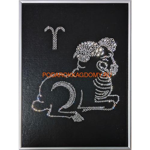 """Картина Сваровски """"Знак зодиака овен"""" 77120 фото"""