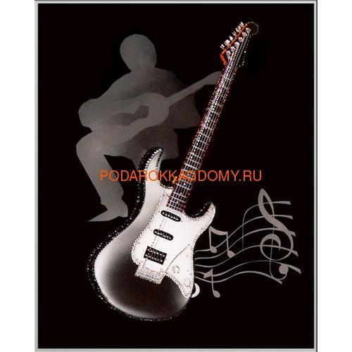 """Картина Сваровски """"Гитара"""" 02527 фото"""