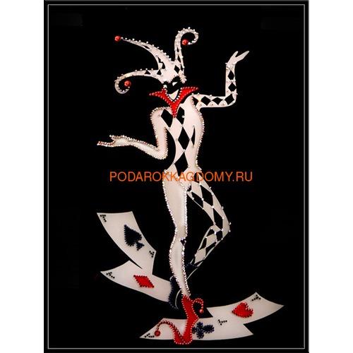 """Картина Сваровски """"Джокер"""" 02415 фото"""