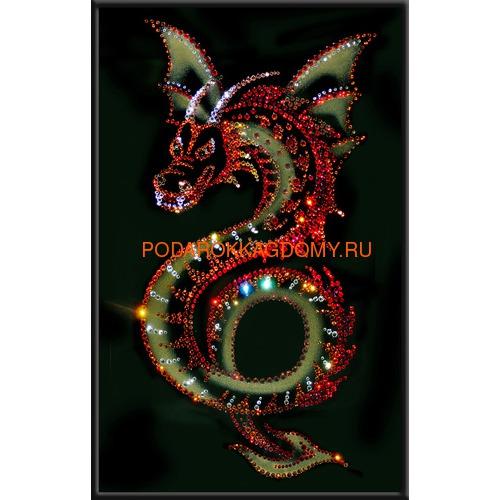 "Картина Сваровски ""Крылатый дракон"" 09118 фото"