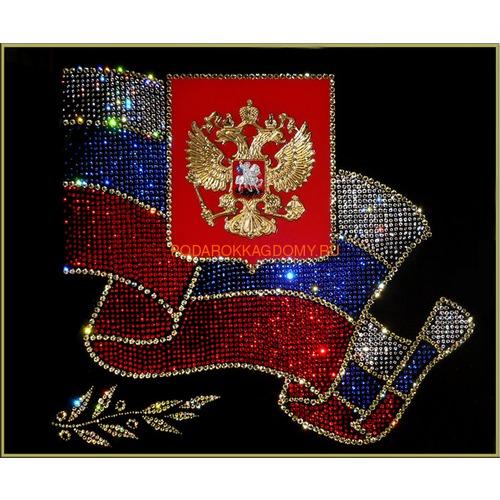 """Картина Сваровски """"Российская символика"""" 02474 фото"""
