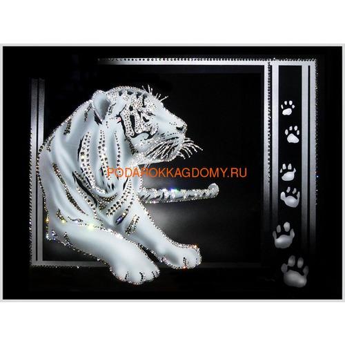 "Картина Сваровски ""Тигр"" 02775 фото"