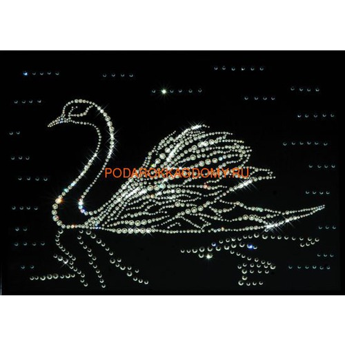"Картина Сваровски ""Лебедь"" 77267 фото"