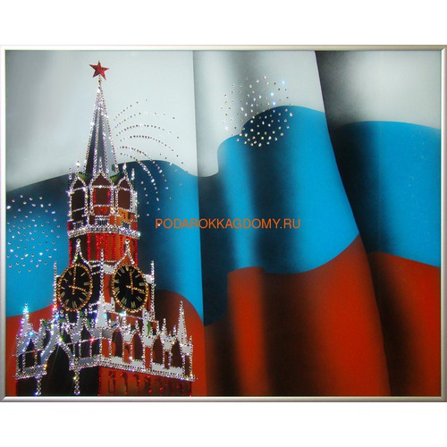 """Картина Сваровски """"Спасская Башня"""" 02478 фото"""