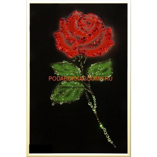 """Картина Сваровски """"Роза"""" 02202 фото"""