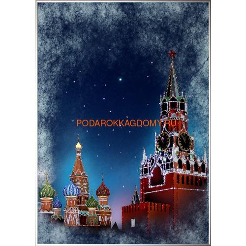 """Картина Сваровски """"Красная площадь"""" 02480 фото"""