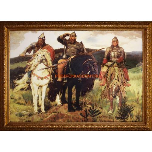 """Картина Сваровски """"Три богатыря"""" 02434 фото"""