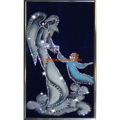 """Картина Сваровски """"Ангел - хранитель"""" 16122 фото"""